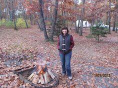 Around the campfire!