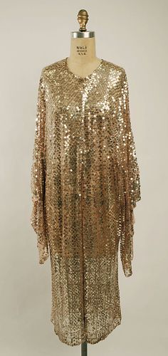 French Coat - c. 1928 - Silk - @~ Mlle