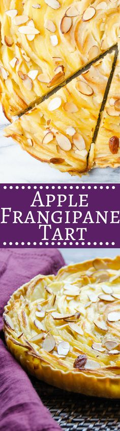 Apple Frangipane Tart | Garlic & Zest