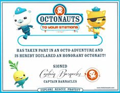 Octonauts Birthday Party Goodie Bag Ideas & Free Printables - TheSuburbanMom