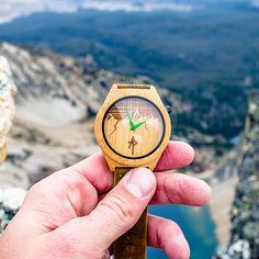 Apache Pine Wood Watch