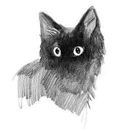 Cats by Ewa Ludwiczak, via Behance