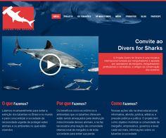 Junte-se ao Projeto Divers for Sharks aqui: www.d4s.eco.br  Join Divers for Sharks! Acess here www.diversforsharks.com.br