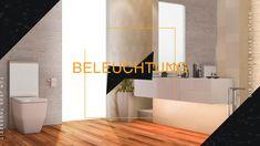 Das richtige Licht im Bad sorgt dafür, dass wir uns wohlfühlen. Wenn das Licht im Bad stimmt, gehts dem Menschen gut. Mehr noch als in Wohnräumen bestehen im Bad je nach Tageszeit und Stimmung unterschiedliche Anforderungen an das Licht. Ein gut durchdachtes Lichtkonzept ist wichtig. Wenn genügend Platz vorhanden ist, tut es gut, wohnliche Leuchten ins Bad zu integrieren. Als Licht im Bad empfiehlt es sich mehrere dimmbare und im Idealfall farblich veränderbare Lichtquellen zu verwenden. Bad, Home Decor, Mood, People, Lighting, Decoration Home, Room Decor, Interior Decorating