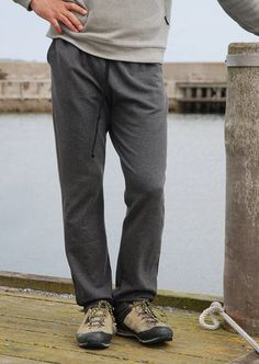 Rebel Sweat Pants from Wardrobe By Me is a sewing pattern. Super comfy, flattering, and relaxed pair of classic joggers for the guys! Mens Sewing Patterns, Joggers, Sweatpants, Sewing Magazines, French Terry, Rebel, Pairs, Guys, Fashion