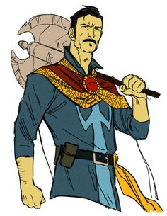 All-New Doctor Strange by Kris Anka - Kris Anka's art compliments this costume design so well.