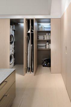 Bijzondere oplossingen voor een klein huis | idee i.p.v. een aparte bijkeuken Door Droomkasteel