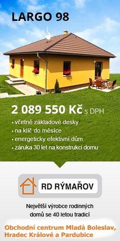 Largo 98 přízemní dům www.uspornedomy.cz