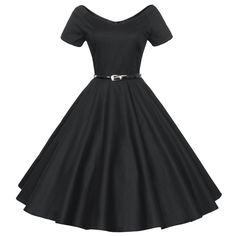 Audrey Hepburn vintage 50s 60s V-neck short sleeve belt tunic ball gown dress women casual party dresses robe de fiesta Alternative Measures