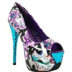 Love these my favorite colors purple & turquoise