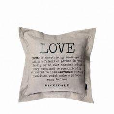 Love kussen Riverdale