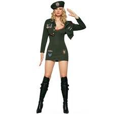 womens military costume - Halloween Army Costume