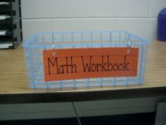 Workbook collection...plus other organization ideas