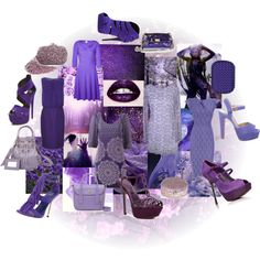 """Collage Contest - Purple"" by justjules2332 on Polyvore"