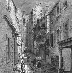Engraving from 'Old & New Edinburgh'