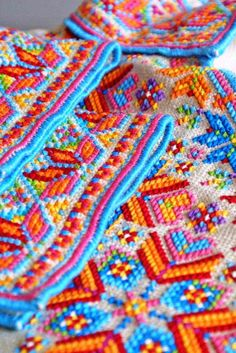 Detail of a Ukrainian 'sorochka', or shirt, that I designed and embroidered in a style with motifs and patterns inspired by the traditional shirts and blouses from Serafyntsi village of Horodenka region in Carpathian Western Ukraine (Designed, embroidered, and assembled by Dave Melnychuk)