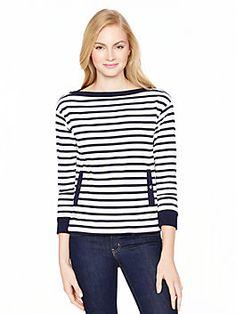 Stripe pocket top, rich navy from Kate Spade. Love! Love! Love!
