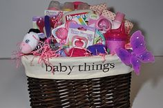 BABY GIFT BASKET http://theautocrathaley.blogspot.com/