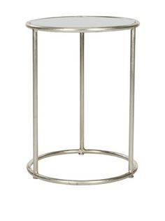 Safavieh Shay Accent Table, Silver/Grey