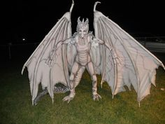 Instructables - Harry Potter albino dragon