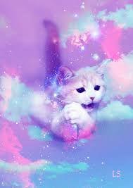 Resultado De Imagen Para Neon Cat Kawaii Wallpaper