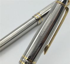 Luxury Meisterstuck Silver Exquisite Pen Rollerball Business Gift