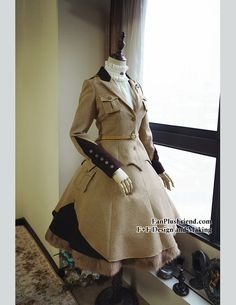 fanplusfriend - Steel Rose, Military Lolita Steampunk Double-Layer Uniform Skirt*2colors Instant Shipping, AU$84.44 (http://www.fanplusfriend.com/steel-rose-military-lolita-steampunk-double-layer-uniform-skirt-2colors-instant-shipping/)