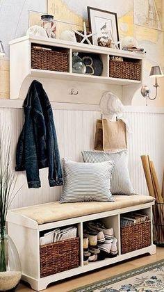 Recibidores pequeños - Muebles rústicos a medida