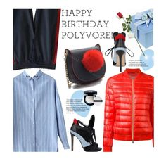 """""""Celebrate Our 10th Polyversary!"""" by beebeely-look ❤ liked on Polyvore featuring Herno, Hanky Panky, Givenchy, sammydress, streetwear, polyversary, contestentry and StreetSyle"""