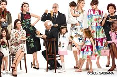 Dolce & Gabbana Women Winter 2016: Advertising Campaign
