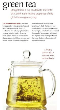 Green tea consumption is associated with reduced heart disease in epidemiological studies. natural health tips, natural health remedies Health And Beauty, Health And Wellness, Health Tips, Nutrition Tips, Health Benefits, Health Care, How To Stay Healthy, Healthy Life, Healthy Living