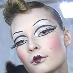Theatrical look by Pat McGrath