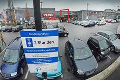 Kassieren auf Privatgelände ist rechtens – und erfolgreich +++ Strafgebühr für Fremdparker soll Kunden Parkplatz sichern