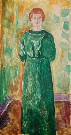 Käte Perls (1913), oil on canvas, Munch Museum, Oslo by Edward Munch (sandica)