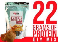 EAT ME GUILT FREE Blondie Brownie DIY Mix Renew