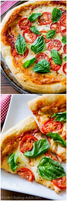 Sometimes you just can't beat a classic like fresh and simple Margherita Pizza. This homemade pizza crust with fresh toppings hits the spot!...
