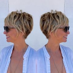messy short hairstyles Over 50 - www. messy short hairstyles Over 50 - www. messy short hairstyles Over 50 - www. Short Hairstyles Over 50, Classic Hairstyles, Best Short Haircuts, Short Hairstyles For Women, Cool Hairstyles, Updos Hairstyle, Pixie Haircuts, Bouffant Hairstyles, Hairstyles Videos