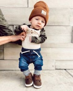 Cute Baby Boy Outfits, Trendy Baby Clothes, Little Boy Outfits, Toddler Boy Outfits, Kids Outfits, Newborn Fashion, Baby Boy Fashion, Baby Planning, Cute Baby Pictures