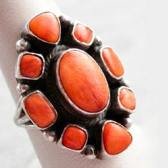 Spiny Oyster Ring by Roie Jaque