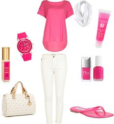 """""""Pink"""" by socalgurl4 on Polyvore"""