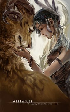 Affinity by vitellan on deviantART ~ Can I have a pet like that? Character Inspiration, Character Art, Character Design, Magical Creatures, Fantasy Creatures, Fantasy World, Fantasy Art, Fantasy Characters, Concept Art