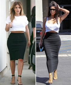 Photo proof that Kim Kardashian only wears 15 outfits ever: