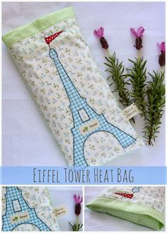 Eiffel Tower Heat Bag - 20 DIY & Craft Projects You Need To Make Right Now