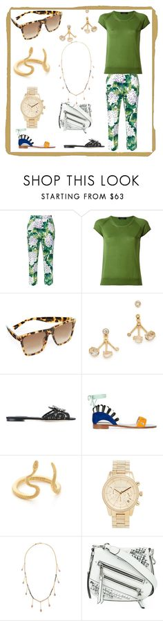 """""""set for amazing"""" by denisee-denisee ❤ liked on Polyvore featuring Dolce&Gabbana, Roberto Collina, Marc Jacobs, Tai, Paula Cademartori, Nora Kogan, Michael Kors and Emily & Ashley"""