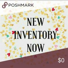 New Inventory Now Lots of new Inventory for all sizes!! Need new beautiful clothes for work or classy and sexy items for happy hour....Come shop and get 15% 2 or more items instantly. MANY ITEMS HAVE DISCOUNTED SHIPPING Jewelry