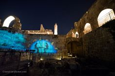 Tower of David by night-16