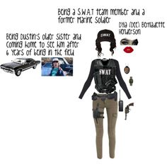 A fashion look from November 2017 featuring Swat, Swat costumes and Calvin Klein Underwear panties. Browse and shop related looks.