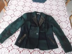 13.85$  Watch now - http://vihqv.justgood.pw/vig/item.php?t=ion3sq25496 - Woman's studded blazer jacket coat by Coldwater Creek clothes outfit apparel