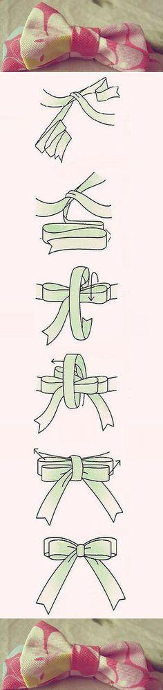 Easy Bow   DIY & Crafts Tutorials