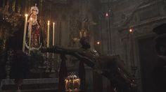Imagen del besapies del Santo Crucifijo de la Salud en San Miguel del miércoles ceniza. #YoveoEntrevarales
